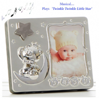 Star Musical Photo Frame ~ Twinkle Twinkle Little Star ~ for Boys or Girls